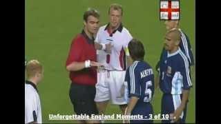WM 1998: Beckhams rote Karte gegen Argentinien