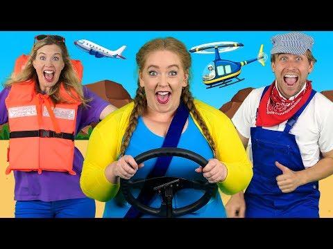 """Alphabet Transport"" - ABC Transportation Song for Kids   Learn Vehicles, Phonics and Alphabet ABCs - Thời lượng: 3 phút, 57 giây."