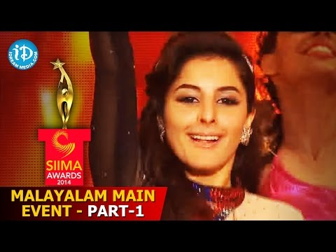 SIIMA 2014 Malayalam Main Event Part 1