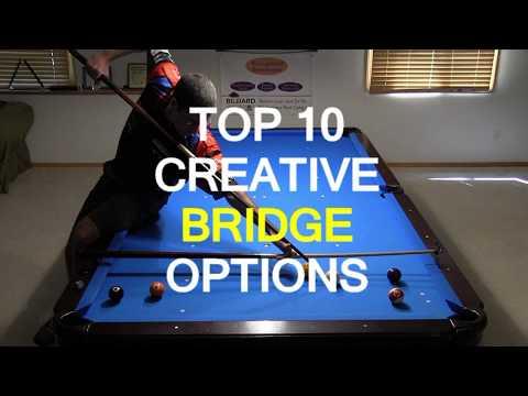 Top 10 Creative Billiards Bridge Options