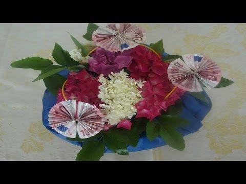 Geldgeschenk Zum Geburtstag Mit Blumen Flora Shop Eu