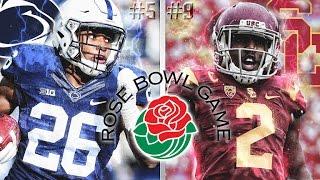 #5 Penn State vs #9 USC | 2017 Rose Bowl  | NCAA Football Simulation