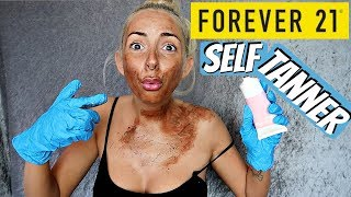I TRIED Forever 21 SELF TANNER. by Piink Sparkles