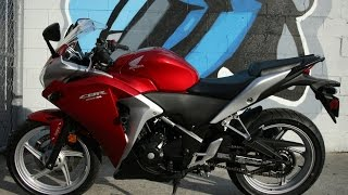 10. 2012 Honda CBR250R ABS ...Great Entry Level Sport Motorcycle