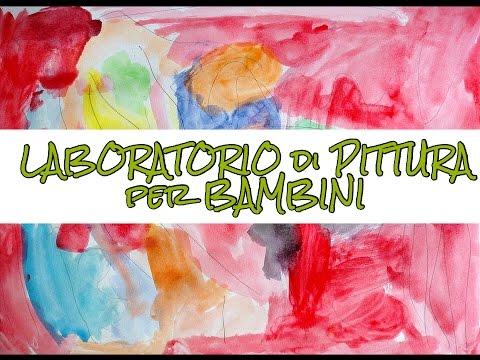 Laboratorio di pittura per bambini a cura di Maria Rocca