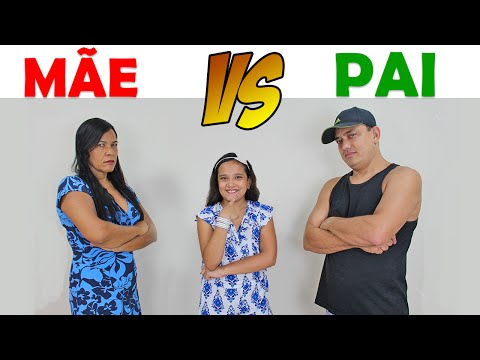 MÃE VS PAI - JULIANA BALTAR (видео)