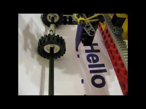 Lego Felt Tip Printer | Video