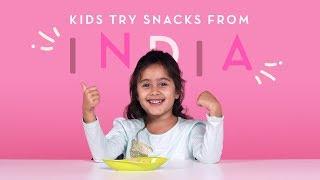 Video Kids Try Snacks from India | Kids Try | HiHo MP3, 3GP, MP4, WEBM, AVI, FLV Maret 2018