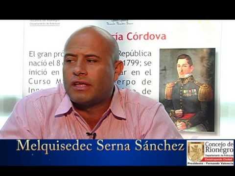 Concejal rionegrero Melquisedec Serna