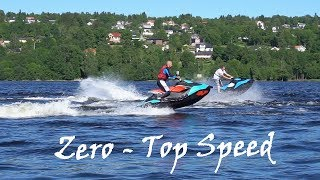 4. Sea Doo Spark vs TRIXX - Zero to Top Speed