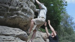 Learn how to do bouldering with this short, easy to follow guide from mountaineering expert Laurence Reading. Get top safety tips and get bouldering in no time.Watch This and Other Related films here: http://www.videojug.com/film/how-to-do-boulderingSubscribe! http://www.youtube.com/subscription_center?add_user=videojugsportCheck Out Our Channel Page: http://www.youtube.com/user/videojugsportLike Us On Facebook! https://www.facebook.com/videojugFollow Us On Twitter! http://www.twitter.com/videojug