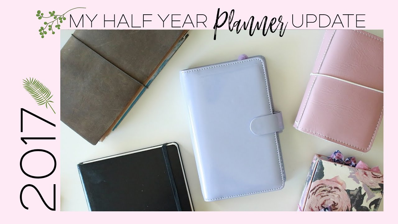 2017 Half Year Planner Update! (Bullet Journal, Pocket TN, Traveler's Notebook)