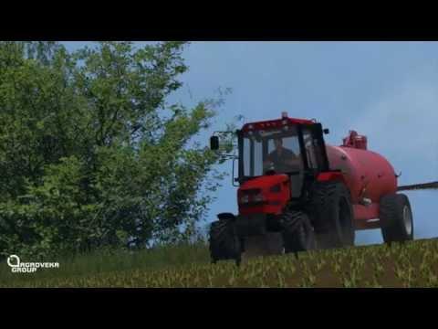 "AgrovekaGroup ""Ž.Ū.B"" | Full week of work's #3 |*GoPro*| Farming Simulator 2015(Multiplayer)"