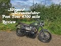 Triumph Street Scrambler - Post Tour 4500 mile Review + offroading!