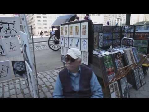 藝術大師班克斯百萬畫作擺地攤只賣2千,路人不識貨,路過沒買!