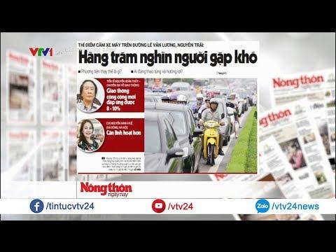 Hà Nội thí điểm dừng hoạt động xe máy: Cấm thì đi bằng gì? @ vcloz.com