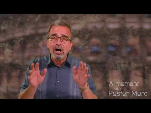 "A Moment with Pastor Marc #52<br /><strong>""A Look At David""</strong>"