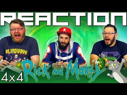 "Rick and Morty 4x4 REACTION!! ""Claw and Hoarder: Special Ricktim's Morty"""