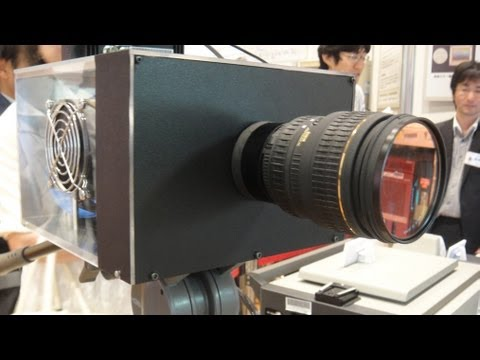 Diginfonews - Ultra HD Imaging System Using Single 33MP CMOS Sensor http://www.diginfo.tv/v/11-0117-r-en.php DigInfo TV - http://diginfo.tv 27/5/2011 NHK OPEN HOUSE 2011 N...