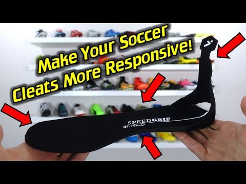 Insoles That Improve Performance!? - Storelli SpeedGrip Soccer Cleat/Football Boot Insoles - Review
