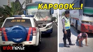 Video KAPOK..!! Inilah Aksi Sopir Bus Ugal-Ugalan Gagal Ngeblong MP3, 3GP, MP4, WEBM, AVI, FLV November 2018