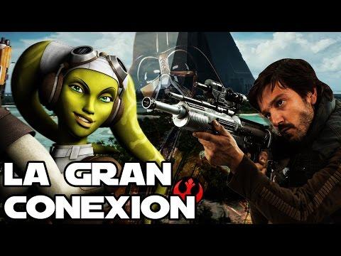 Video La gran CONEXIÓN entre REBELS y ROGUE ONE download in MP3, 3GP, MP4, WEBM, AVI, FLV January 2017