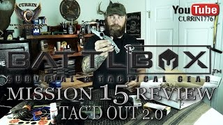 BattlBox Mission 15 Review