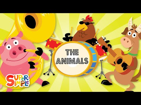 The Animals On The Farm _ Super Simple Songs