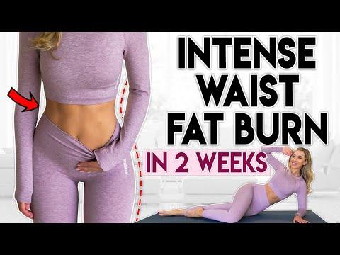 INTENSE WAIST FAT BURN in 2 Weeks | 6 minute Home Workout