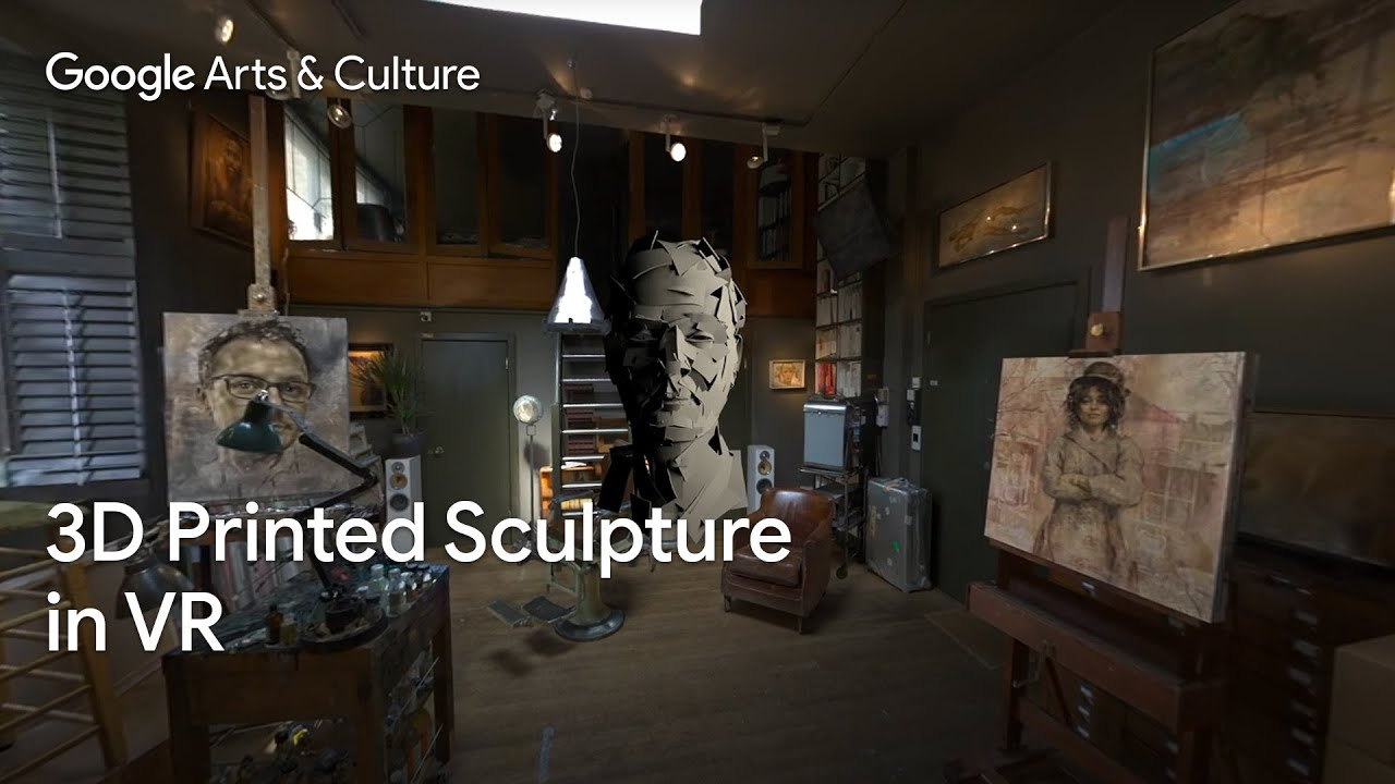 From Virtual to Reality: The world's first large scale, 3D printed sculpture