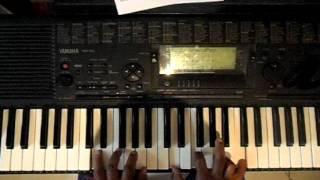 REGIS DANESE -TU PODES (Video Aula Teclado)