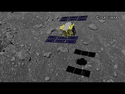 Asteroidenmission Hayabusa 2: Japanische Landung auf Ryugu geglückt
