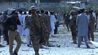 Pelo menos 11 pessoas morreram e 20 ficaram feridas em uma explosão nesta sexta-feira diante da delegacia central da cidade de Quetta, no sudoeste do Paquistão