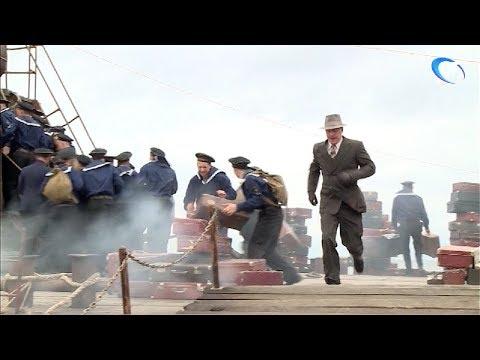 В Шимском районе на берегу Ильменя идут съемки фильма «Блокада. Начало. Я помню тебя таким»