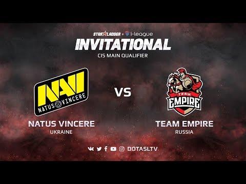 Natus Vincere против Team Empire, Вторая карта, CIS квалификация SL i-League Invitational S3
