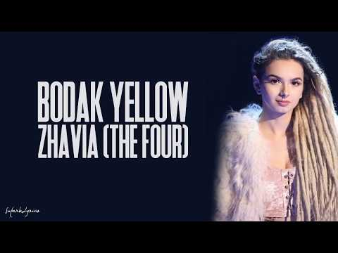 Zhavia - Bodak Yellow (Lyrics)(The Four)