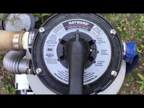 How To Use Different Pool Filter Valve Settings