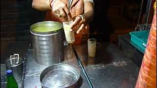 Mathura India  City new picture : Ice Cream in Mathura, India. How to make Indian-style Ice cream. Holi.