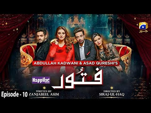 Fitoor - Ep 10 [Eng Sub] - Digitally Presented by Happilac Paints - 25th Feb 2021