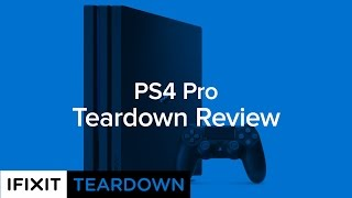 PlayStation 4 Pro Teardown Review!