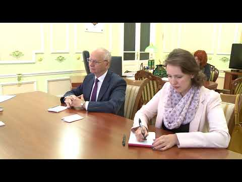 Moldovan president meets Russian envoy