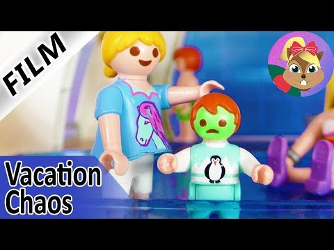 Playmobil Film English | EMMA IS SEA SICK! Smith Family on CRUISE SHIP! Vacation Chaos