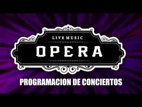 Programación conciertos Sala Opera (Nerja, Málaga)