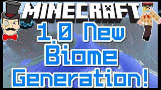 Minecraft 1.0 BIOME CHANGES ! New Biome&Land Chunk Generation !