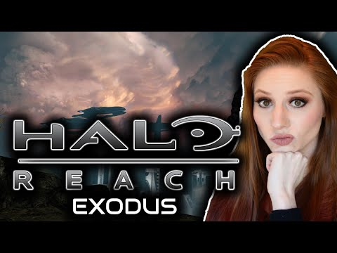 Beating Halo Reach for the FIRST Time Blind | Part 6: Exodus | Let's Play Halo Reach!