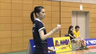 Download Video 女子シングルス準々決勝 大堀彩(富岡高校) vs 福島由紀(ルネサス) MP3 3GP MP4