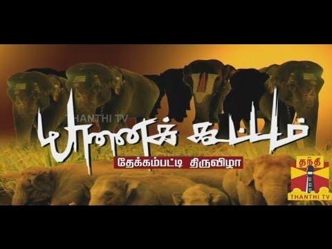 YAANAI KOOTTAM  Elephant Rejuvenation camp - Special Program 29 12 2013 Thanthi TV