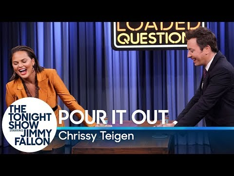 Loaded Questions with Chrissy Teigen (видео)