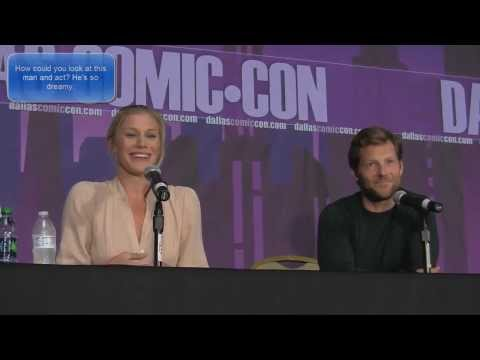 Katee Sackhoff - Katee Sackhoff & Jamie Bamber Battlestar Galactica Interview Panel at Dallas Fan Days 2013 on October 5th, 2013. Katee talks about her role on Riddick. Katee...