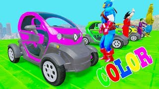 Learn Colors JB Mini Cars & Colors Pin Ball With Superheroes Cartoon For Kids SongsWelcome to Car And Friends Channel. Video Learn Color & Number For KidsThis Channel is about cartoon characters as Spiderman, Hulk, Elsa...with music as finger family, nursery rhymes For Children!Thank For Watch!Playlist :Collection Learn Numbers Video For Kids With Spiderman Cars  : https://www.youtube.com/watch?v=LGEMBndDVZs&list=PLeiK9SGD5dcyj_n1Hp0Z4Yx6mc3jPrnOjCollection Learn Colors For Kids With Spiderman Cars Cartoon :https://www.youtube.com/watch?v=LGEMBndDVZs&list=PLeiK9SGD5dczlFB53UXxxW4RDKgKE1vc-Learn Colors Cars with Spiderman Nursery Rhymes  : https://www.youtube.com/watch?v=LGEMBndDVZs&list=PLeiK9SGD5dcwwwtCHLWgk0Unc5DTjEhfbLearn Number Cars And Trucks W Spiderman Cars Cartoon : https://www.youtube.com/watch?v=LGEMBndDVZs&list=PLeiK9SGD5dcxCq5t6fbAHtUaPjIRqSMFy